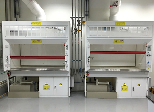 TFF Range Fume Cupboard With Integrated Extraction Fan