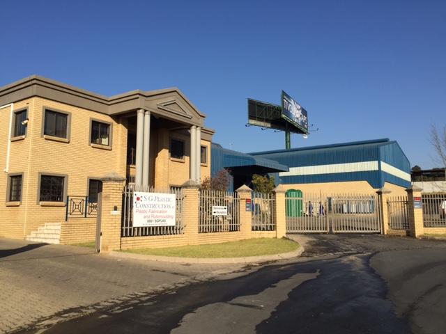 large fabrication facility